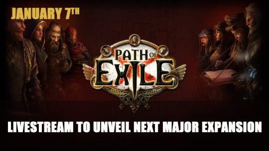 Path of Exile Livestream to Unveil Next Major Expansion on January 7th