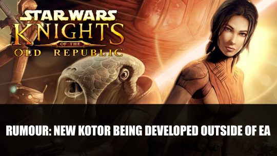 Rumour: New Knights of the Old Republic Being Developed Outside of EA