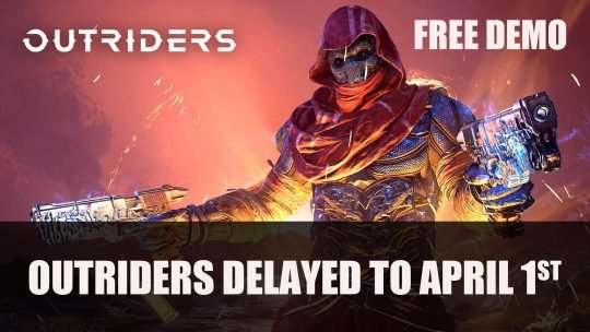 Outriders Delayed to April 1st; Demo Releasing February 25th