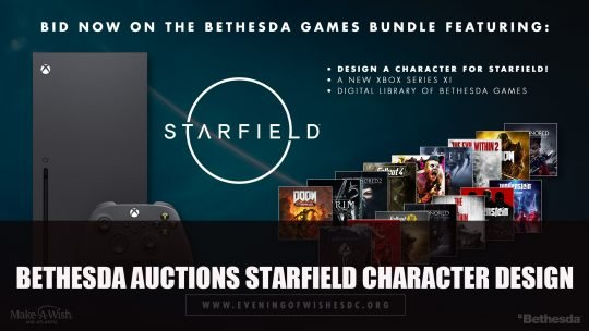 Bethesda Auctions Starfield Character Design with Todd Howard