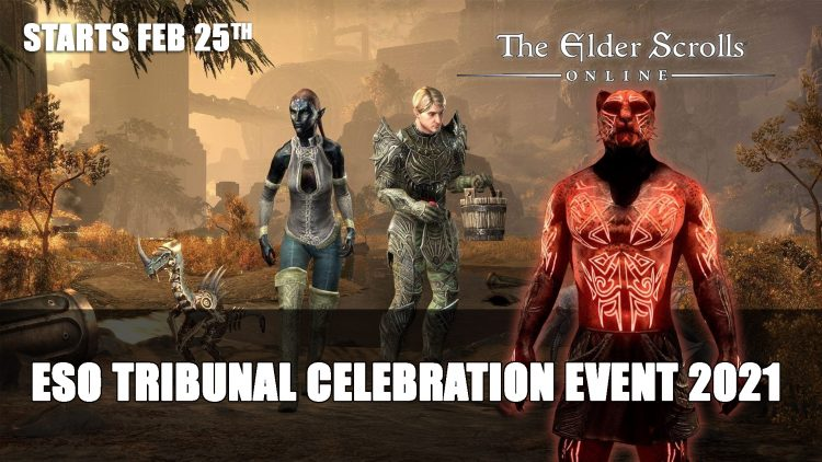 Elder Scrolls Online Tribunal Celebration Event Starts February 25th