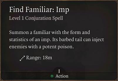 Find Familiar Imp