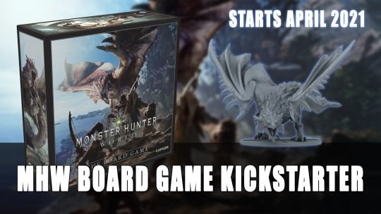 Monster Hunter: World Board Game Kickstarter Starts in April