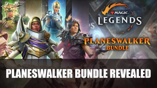 Magic: Legends Planeswalker Bundle Revealed