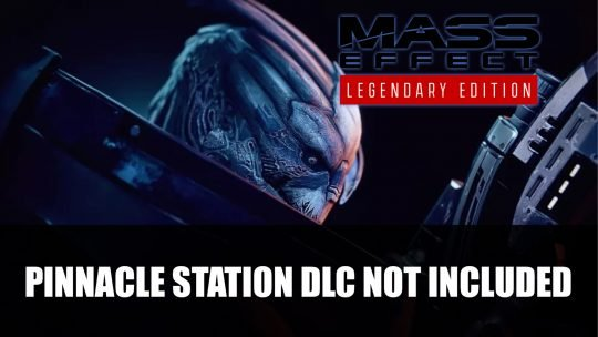 Mass Effect Legendary Edition Won't Include Pinnacle Station DLC Because of Lost Source Code