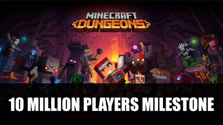 Minecraft Dungeons Reaches 10 Million Players