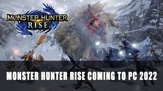 Monster Hunter Rise Announced for PC Coming in 2022