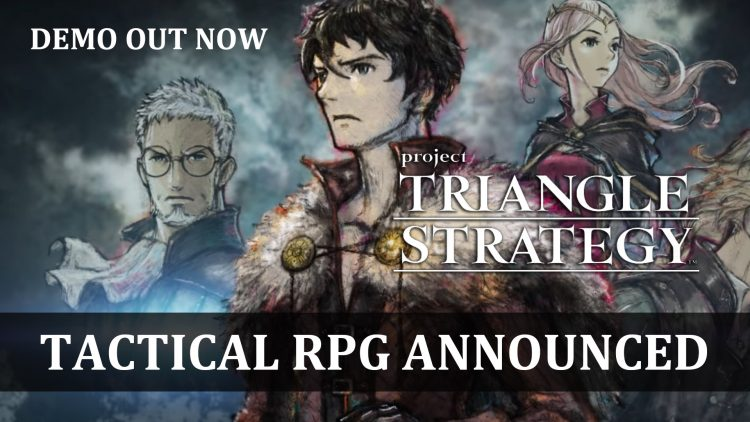 Project Triangle Strategy A Tactical RPG Successor to Octopath Traveler Announced