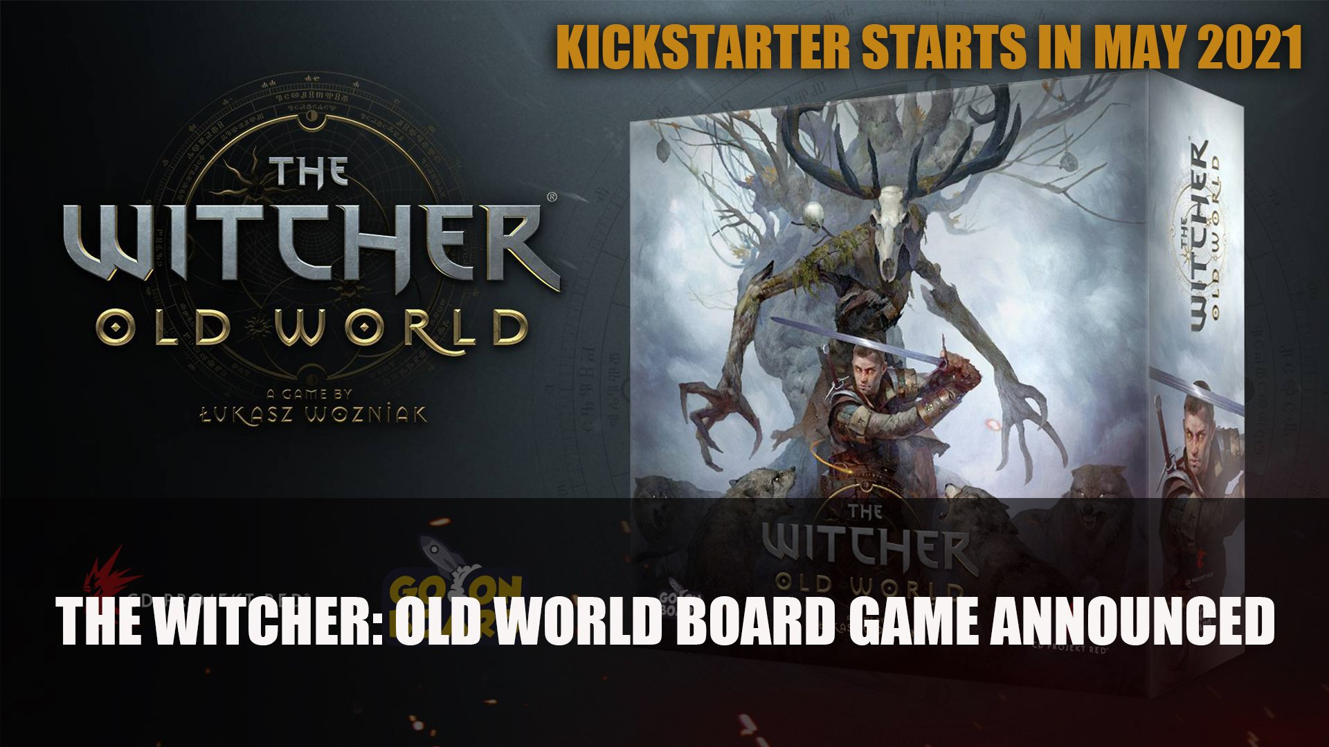 The Witcher: Old World Board Game Kickstarter Starts in May