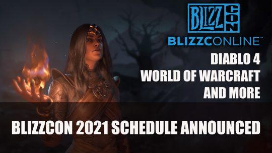 BlizzConline 2021 Schedule Promises What's Next for Diablo