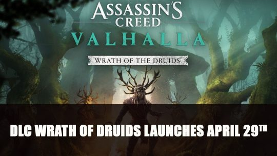 Assassin's Creed Valhalla's Next DLC Wrath of Druids Launches April 29th
