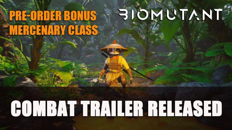 Biomutant Combat Trailer; Pre-Order Bonus DLC Class Mercenary Announced