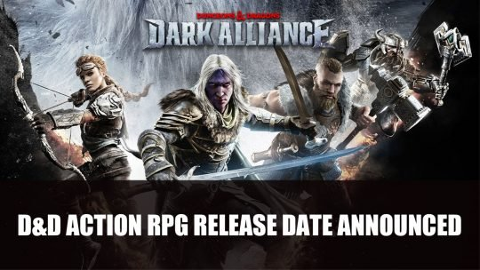 Dark Alliance A D&D Action RPG Release Date Announced