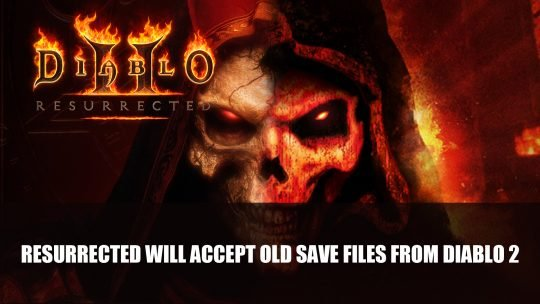 Diablo 2: Resurrected Will Accept Old Save Files From the Original