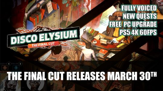 Disco Elysium The Final Cut Releases March 30th