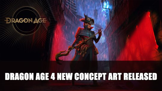 Dragon Age 4 New Concept Art Released