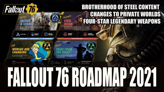 Fallout 76's 2021 Roadmap Includes New Story Content, Daily Ops and More