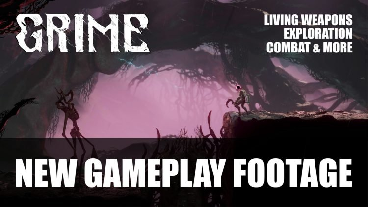 Grime A Souls-Like Metroidvania Gets New Gameplay Video