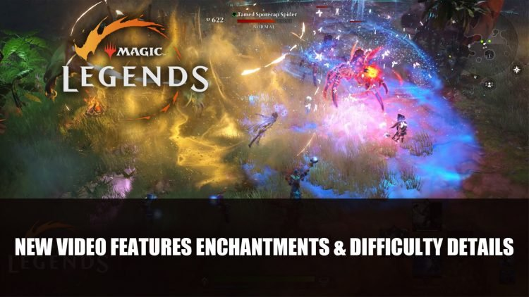 Magic Legends New Video Features Enchantments and Difficulty Details