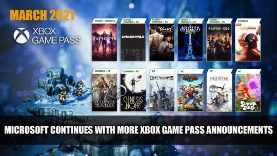 Microsoft Continues with Xbox Game Pass Announcements Adding Octopath Traveler