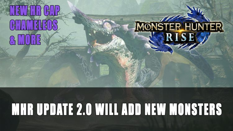 Monster Hunter Rise's First Major Post-Launch Update Adding New Monsters This April