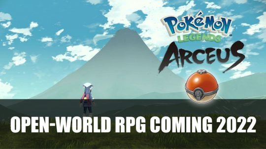 Pokémon Legends Arceus An Open-World RPG Coming to Switch in 2022