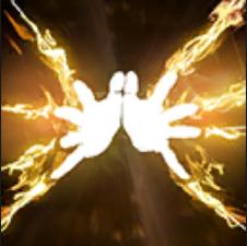 Solasta Burning Hands Logo
