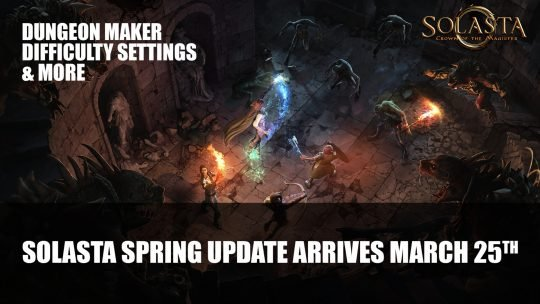 Solasta: Crown of the Magister Spring Update Arrives March 25th