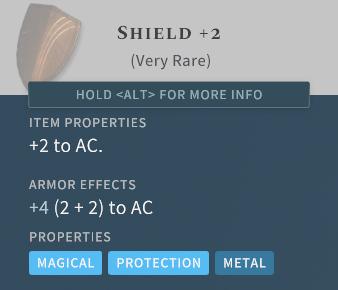 Solasta Shield +2