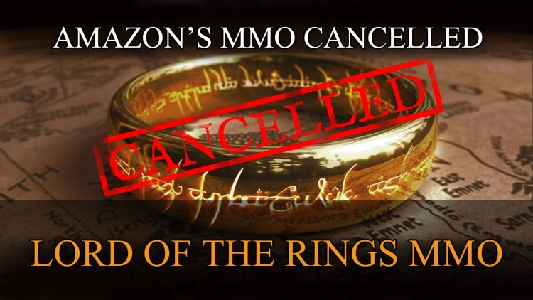 Amazon Cancels Lord of the Rings MMORPG