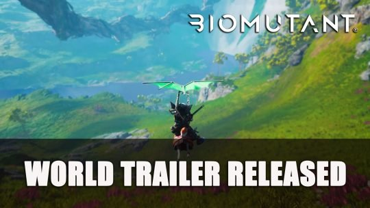 Biomutant New 'World' Trailer Highlights the Peaceful Side of the Game