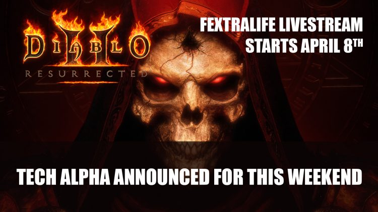 Diablo 2: Resurrected Tech Alpha Announced For This Weekend