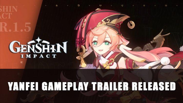 Genshin Impact Releases New Trailer Featuring Yanfei