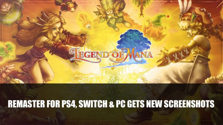 Legend of Mana Remaster for PS4, Switch & PC Gets New Screenshots