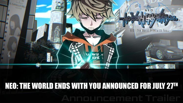 Neo: The World Ends with You Releases on PS4 July 27th