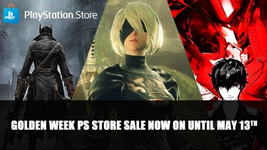 Big PSN Golden Week Sale Includes NieR Automata, Persona 5 Royal & More