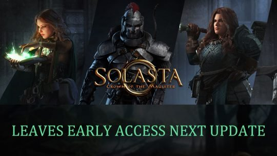 Solasta: Crown of the Magister Will Leave Early Access in Next Update