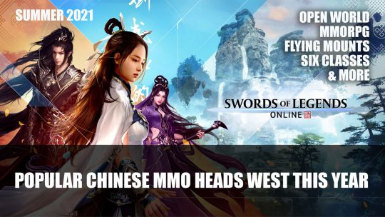 Swords of Legends Online One of the Biggest Chinese MMOs Heads West This Year