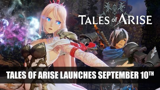Tales of Arise Launches September 10th 2021
