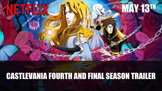 Netflix's Castlevania Animated Series Gets Trailer for Final Season