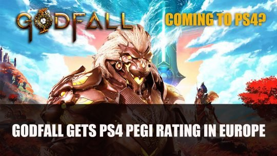Godfall Gets Rating for PS4 in Europe