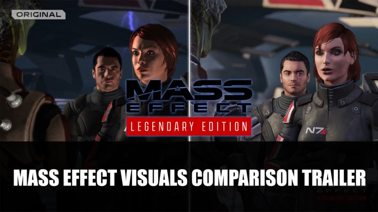 Mass Effect Legendary Edition's Visual Changes Outlined in New Trailer
