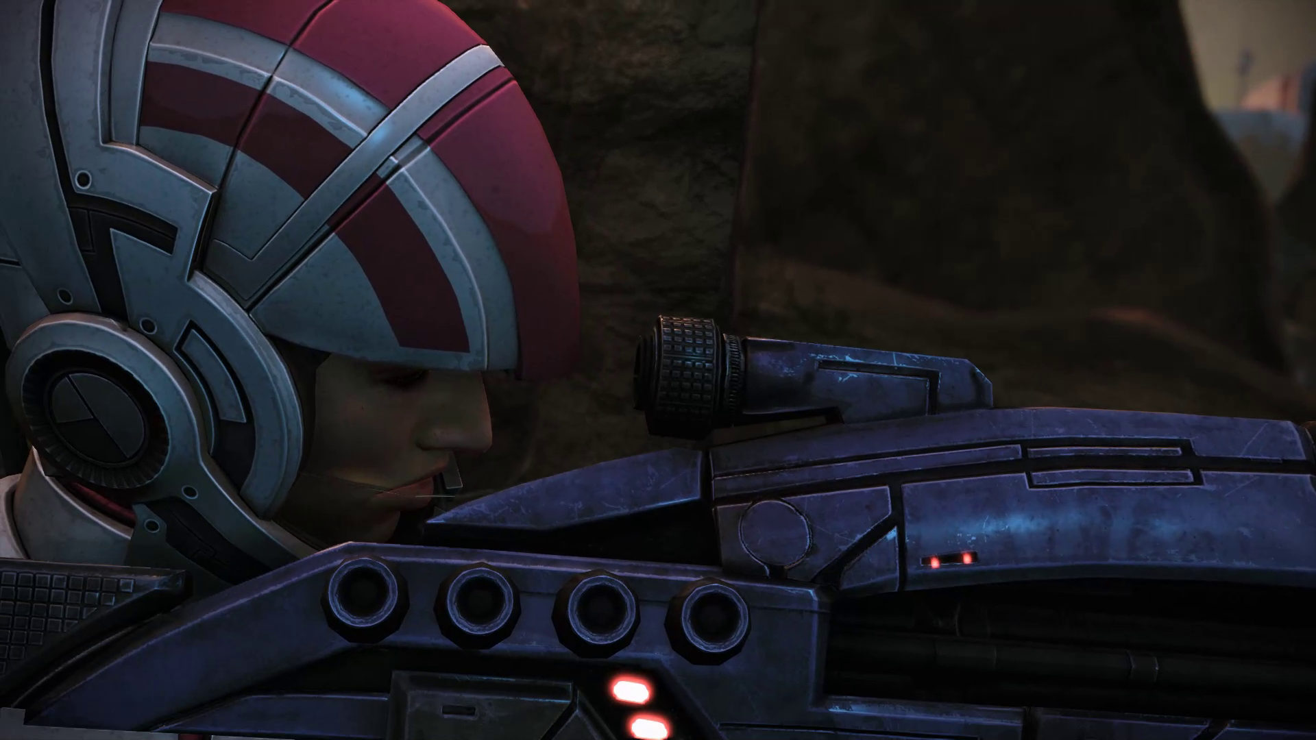 Ashley Williams Sniper Rifle