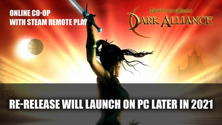 Baldur's Gate: Dark Alliance Will Release on PC Later This Year