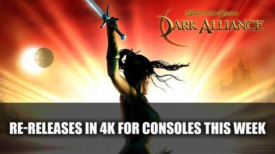 The Original Baldur's Gate: Dark Alliance Re-Releases in 4K for Consoles This Week
