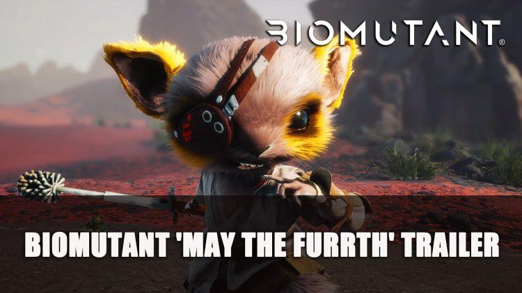 Biomutant 'May The Furrth' Trailer Celebrates Stars Wars