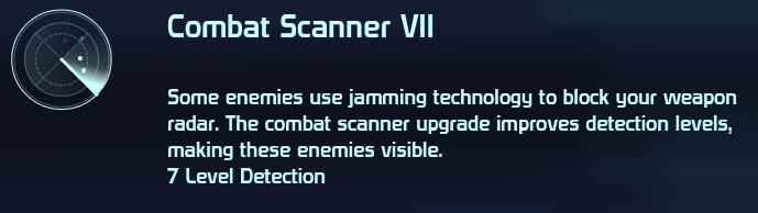 Combat Scanner VII