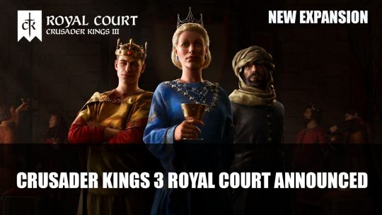 Crusader Kings 3 Royal Court Expansion Announced