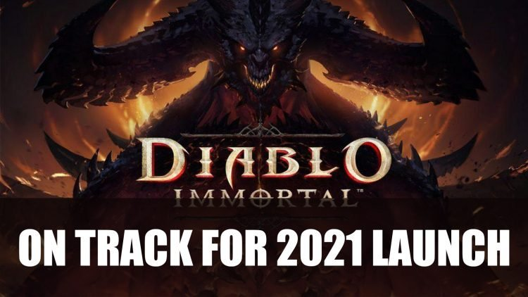 Diablo Immortal is On Track for Release This Year 2021
