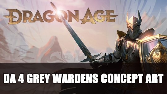 Dragon Age 4 Concept Art Teases Grey Wardens